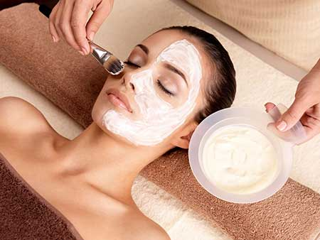 deep pore facial cleansing